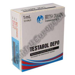 Testabol Depo 250mg fiala (BRITISH DRAGON)