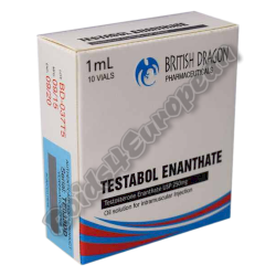 Testabol Enanthate 250mg fiala (BRITISH DRAGON)