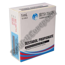 Testabol Propionate 100mg fiala (BRITISH DRAGON)