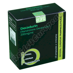 Decadurin GEP (GENERAL EUROPEAN PHARMACEUTICALS)