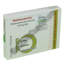 Methandrolic GEP (GENERAL EUROPEAN PHARMA)