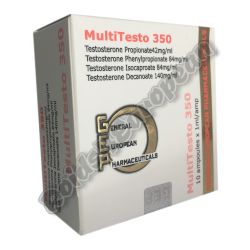 MultiTesto 350 GEP (GENERAL EUROPEAN PHARMACEUTICALS)