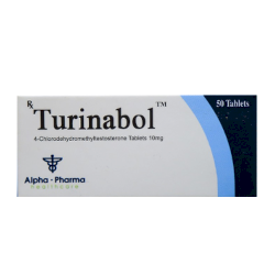 Turinabol 10mg (ALPHA PHARMACEUTICALS)